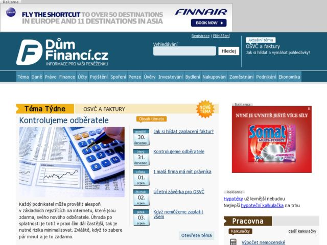 DumFinanci.cz (HouseFinance) information for your wallet