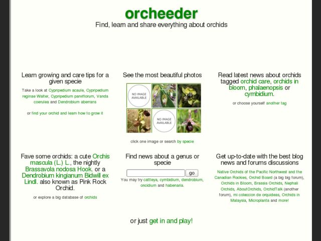 screenshot of Orcheeder