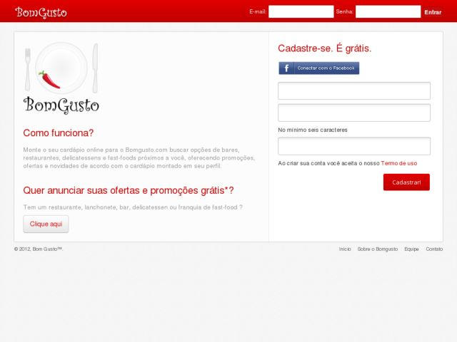 Bomgusto.com your menu and receive offers, from restaurants, bars and fast-food.