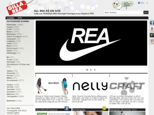 screenshot of GillaRea