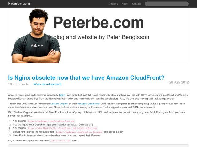 Peterbe.com