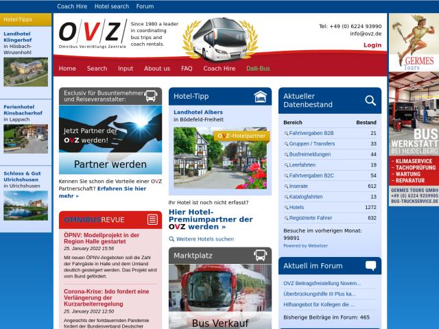 screenshot of OVZ