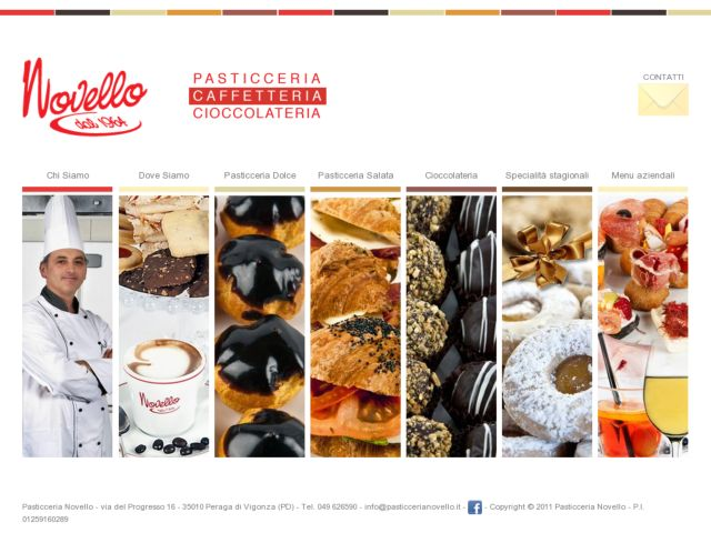 Pasticceria Novello - Novello pastries makers and stores