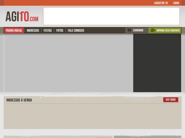 screenshot of Agito10.com