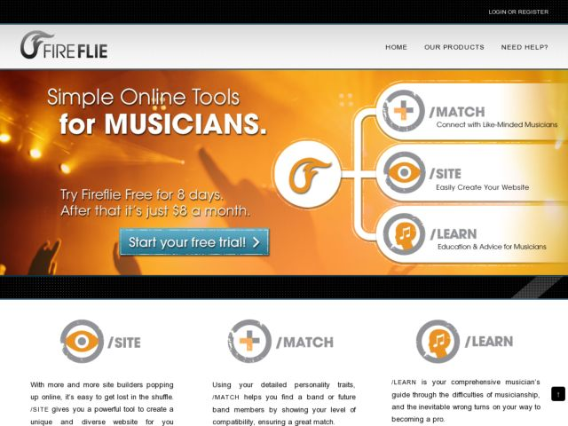 screenshot of Fireflie