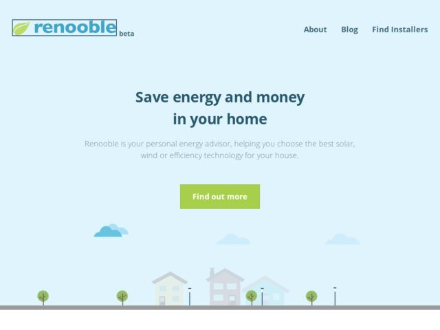 Renooble, small scale renewable energy for all