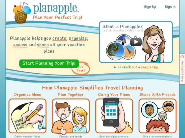 screenshot of Planapple