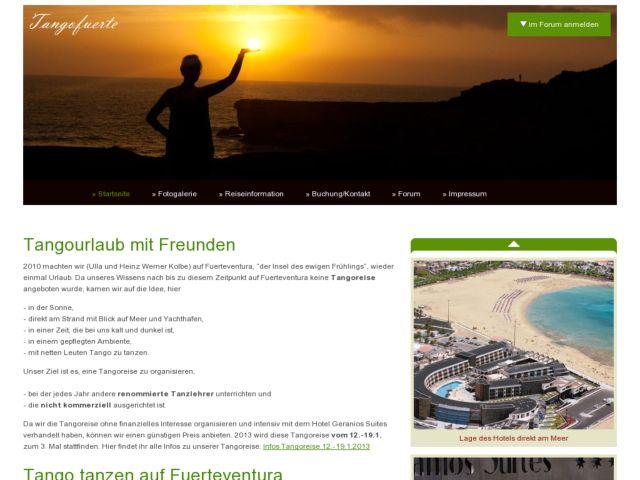 Tango Fuerteventura