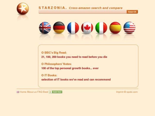 Starzonia.com