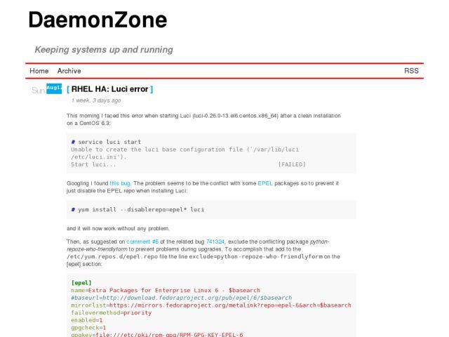 DaemonZone