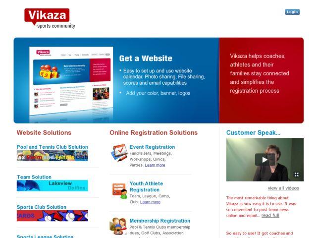screenshot of Vikaza
