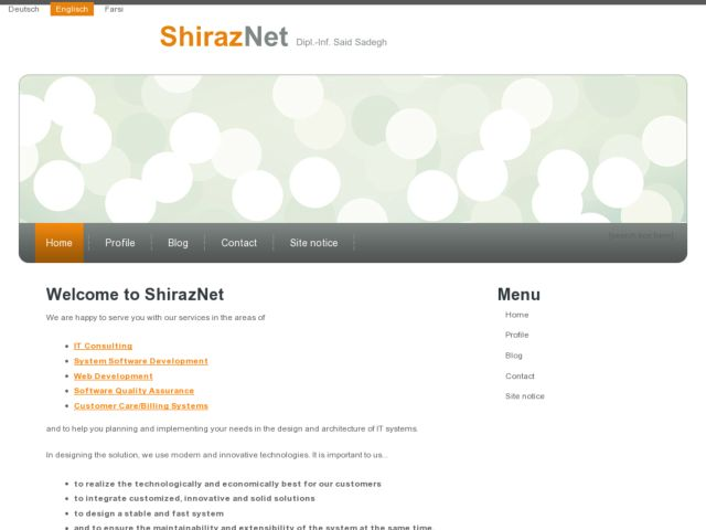 ShirazNet IT Consulting