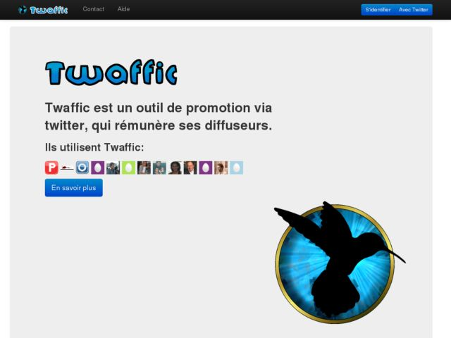 screenshot of Twaffic
