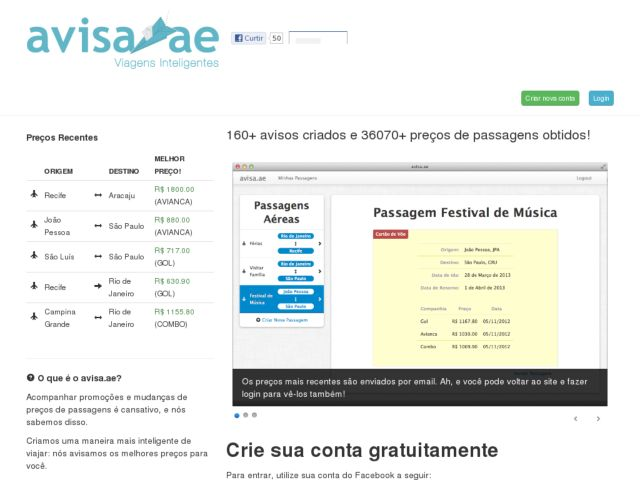 screenshot of avisa.ae