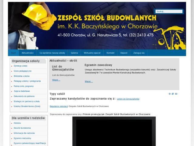 ZSB Chorzow - Local high school website