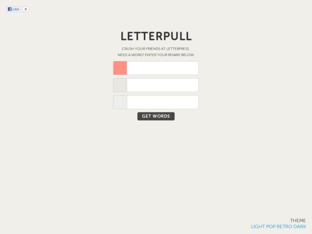 Letterpull