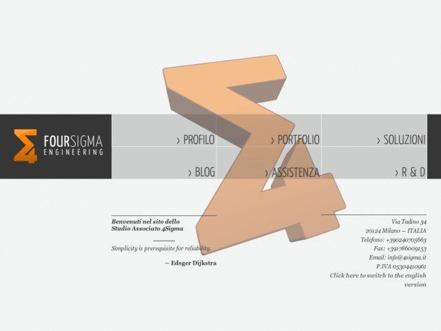 4sigma website