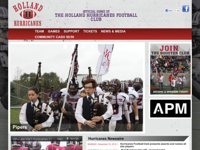 Holland College Football