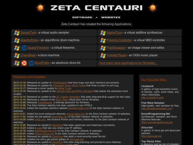 screenshot of Zeta Centauri