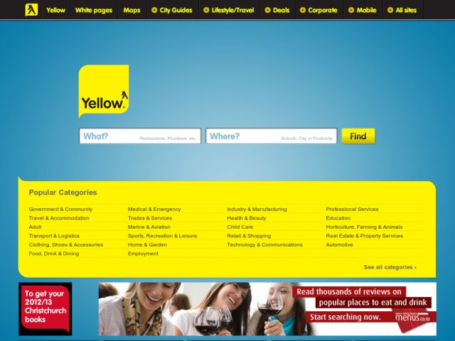 Yellow Pages New Zealand