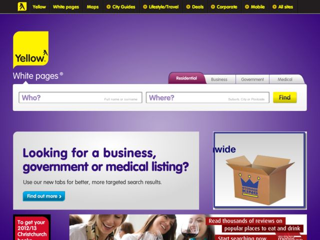 White Pages New Zealand