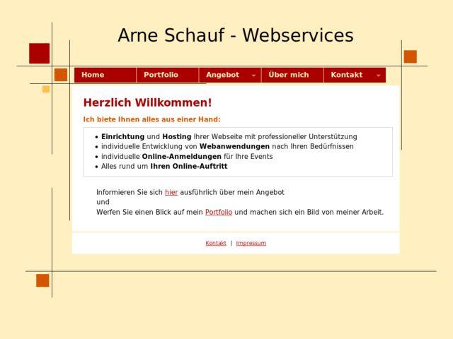 Arne Schauf Webservices