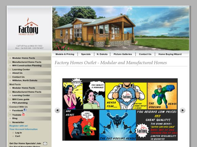 Factory Homes Outlet