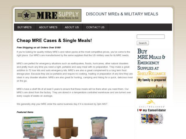 MRE Supply