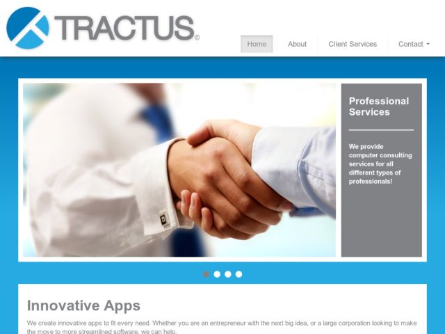 screenshot of Tractus