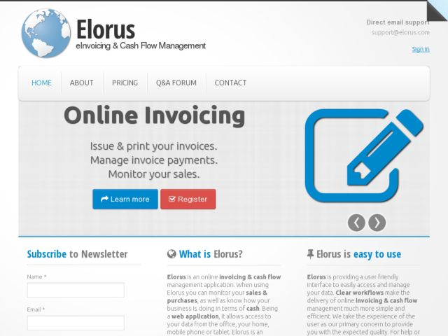 Elorus Website