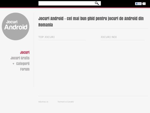 screenshot of Jocuri Android