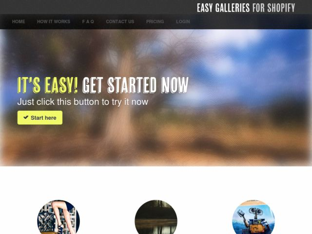 Easy Galleries for Shopify