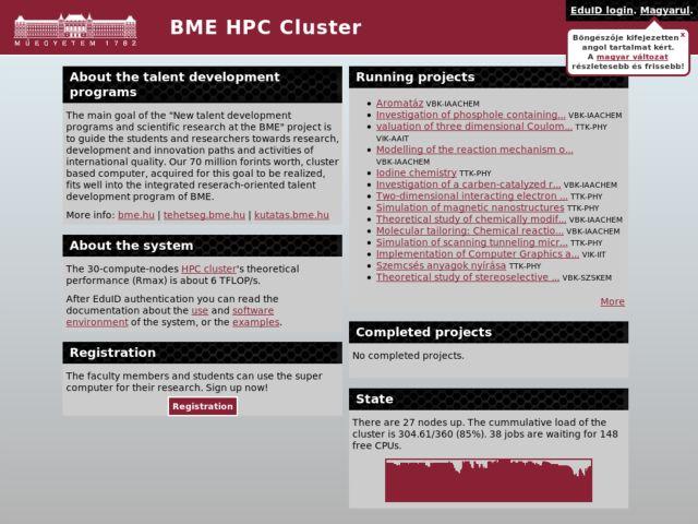 BME HPC Cluster