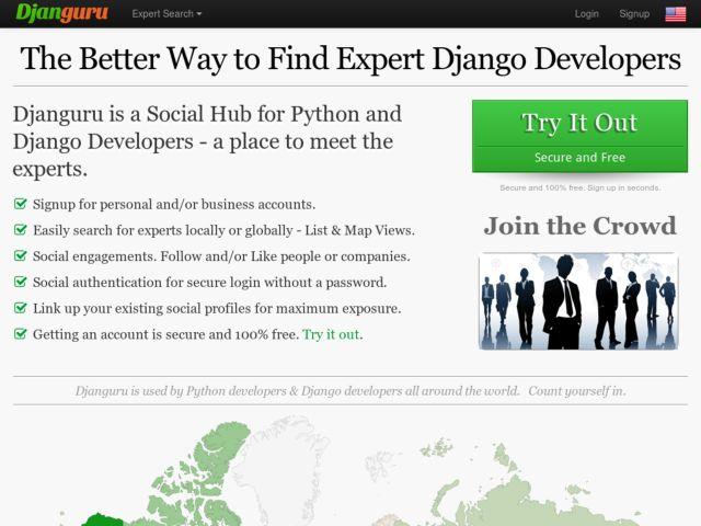 A Social Hub for Django Developers