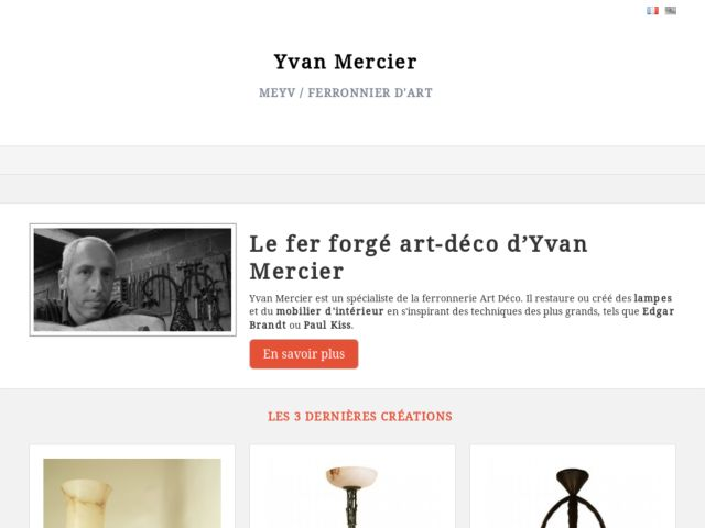 Yvan Mercier, Hand Made Art Deco Furniture