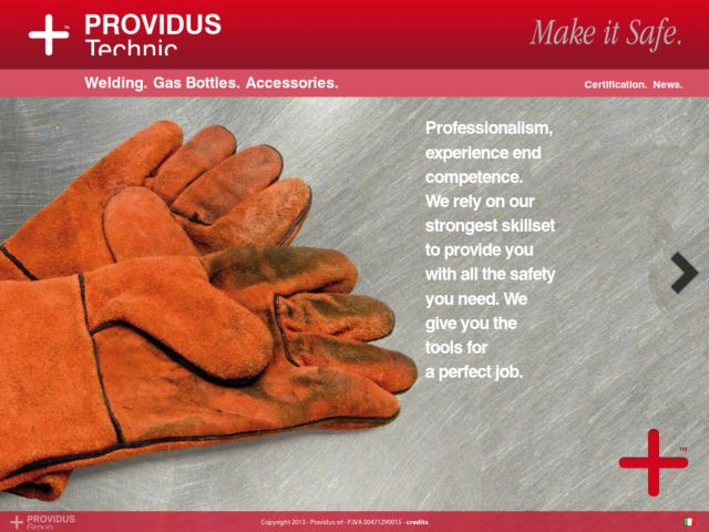 screenshot of + Providus Technic