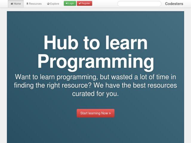screenshot of Codesters