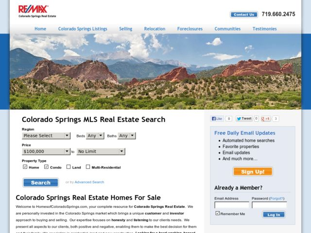 Homes of Colorado Springs