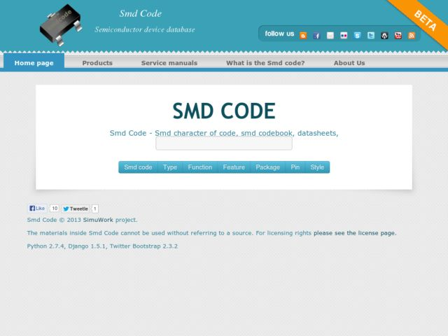 Smd code