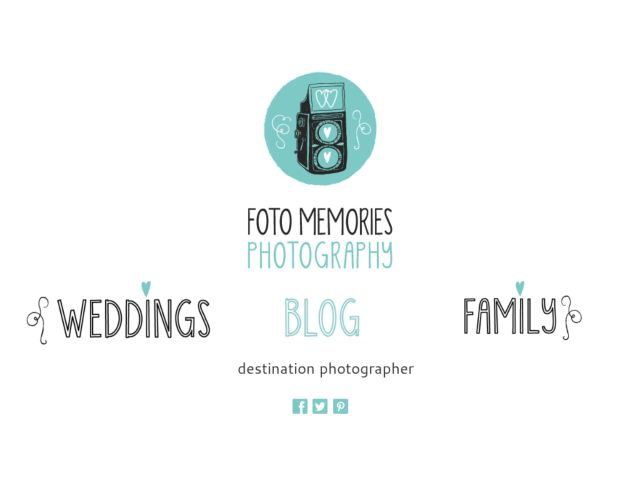 Photographer Site - Foto Memories