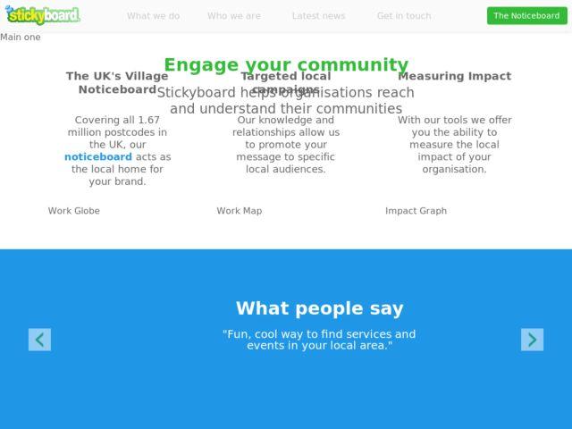 Stickyboard - Partnerships