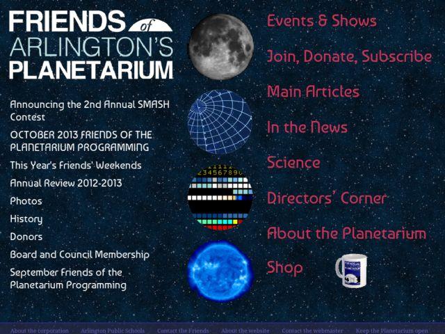 Friends of Arlington's Planetarium