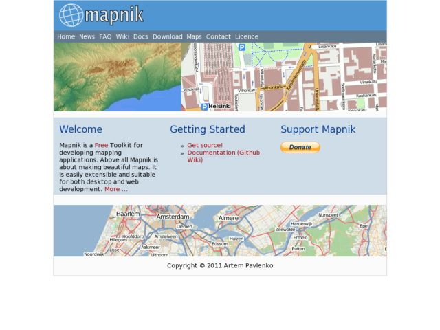 screenshot of Mapnik