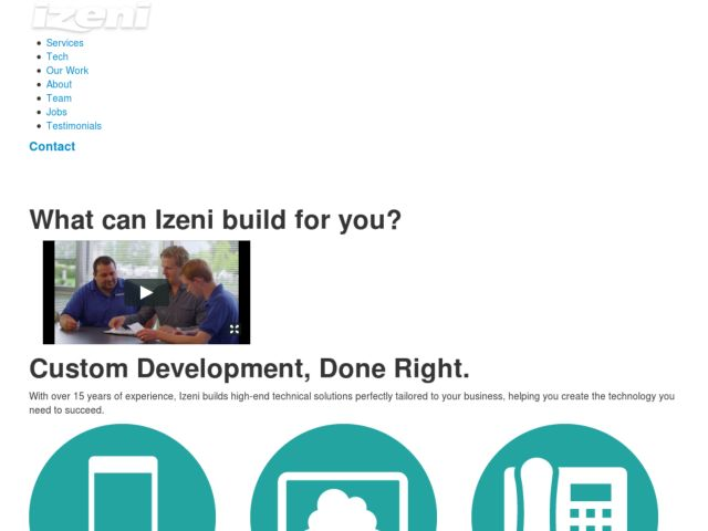 Izeni - Web Development