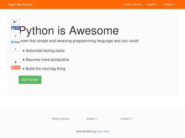 Teach Me Python