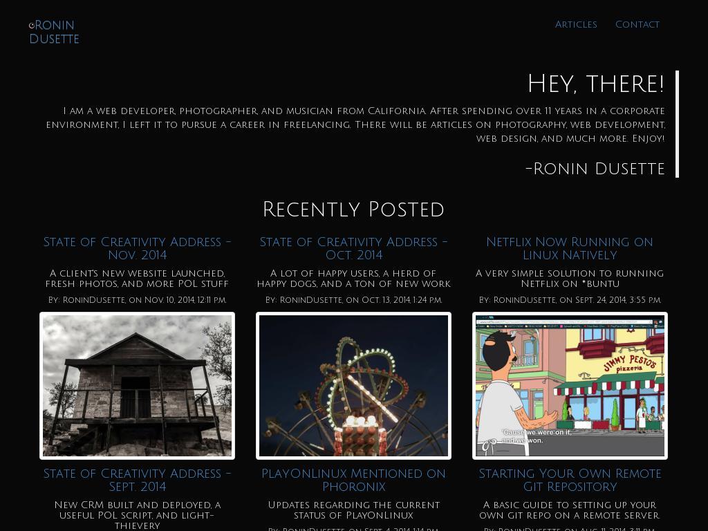 Blog for Dusette Creative