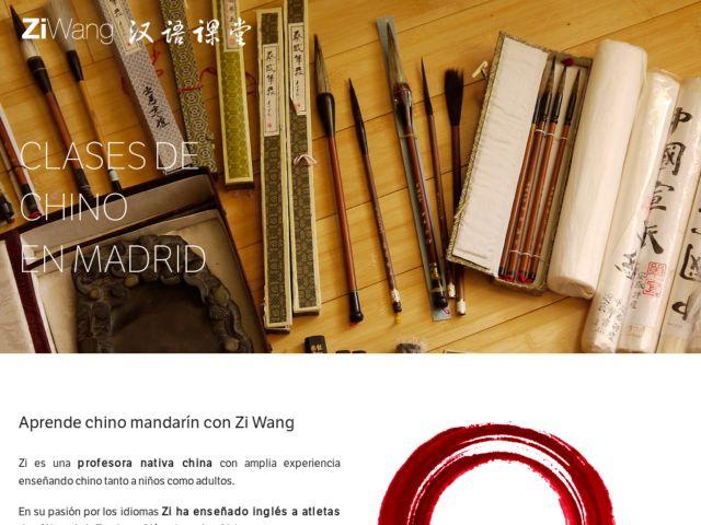 Wang Chino - Chinese class in Madrid