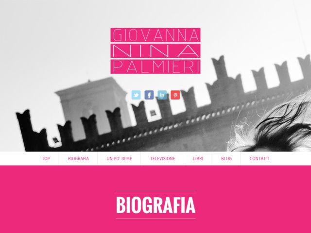 Giovanna Nina Palmieri Official Web Site