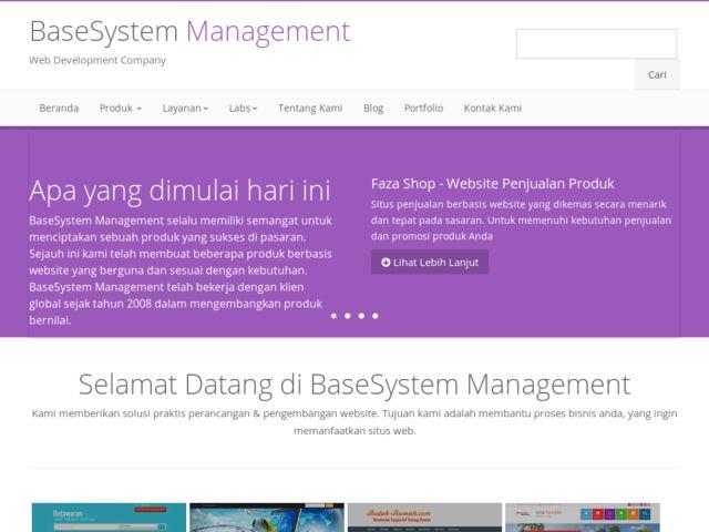 BaseSystem Management