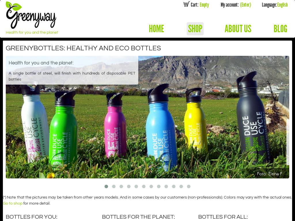 Greenyway Stainless Steel Bottles